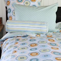 mediterranean kids bedding by Rosenberry Rooms