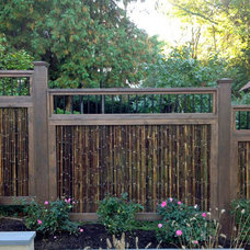 Tropical Home Fencing And Gates by Bamboo Innovations