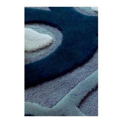 """Balanced Design - Peacock Rug - Features: -Shape: Rectangle.-Distressed: No.-Construction: Machine made.-Technique: Tufted: cut and loop.-Primary Pattern: Geometric.-Material: 100% New Zealand Wool.-Fringe: No.-Reversible: No.-Rug Pad Needed: No.-Water Repellent: No.-Mildew Resistant: No.-Stain Resistant: No.-Fade Resistant: No.-Swatch Available: No.-Eco-Friendly: Yes.-Outdoor Use: No.-Product Care: Preventative maintenance including regular vacuuming and prompt removal of spots and spills. Professional cleaning recommended every 12-18 months..-Country of Manufacture: United States.Specifications: -Exposure to direct sunlight is a factor to consider in placement.-Vacuum regularly.-Remove spills immediately.-Professionally clean every two years.-Do not apply stain repellent treatment containing silicone.-CRI certified: Yes.-Goodweave certified: No.Dimensions: -Pile Height: 3.5"""".-Overall Product Weight: 5 lbs.Warranty: -Product Warranty: 2 years: contains exclusions and limitations."""