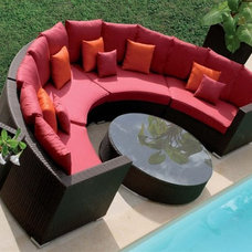 contemporary patio furniture and outdoor furniture by SectionalsAndSofas