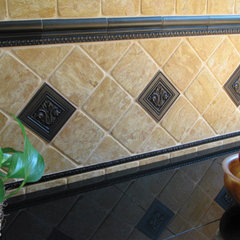 traditional kitchen tile by Saint-Gaudens Tile