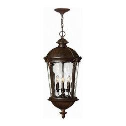 Hinkley Lighting - Hinkley Lighting 1892RK Windsor 4-Light Outdoor Pendants/Chandeliers - Hanger Outdoor
