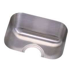 Elkay - Elkay Dayton Undermount Sink, Stainless Steel (DXUH1210) - Elkay DXUH1210 Dayton Undermount Sink, Stainless Steel