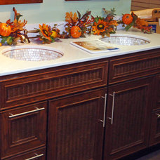 Tropical Bathroom Vanities And Sink Consoles by Snow and Jones, Inc