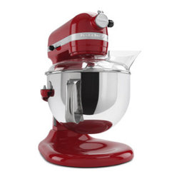 KitchenAid Professional 600 Series 6 Quart Bowl-Lift Stand Mixer - For Christmas cookies and beyond, this Empire Red KitchenAid Professional 600 Series Stand Mixer has the horsepower to handle all your baking.