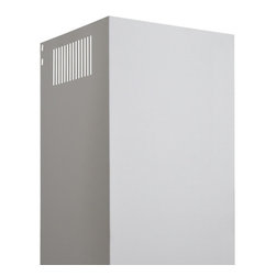 Flue Cover for Parma, Villa and Pelos 2100 Series Wall-Mount Range Hoods - This flue cover is made for use with the Parma, Villa and Pelos 2100 Series Stainless Steel Wall-Mount Range Hood. Use one or more for installations that require a longer flue.