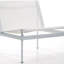 Knoll - Swell Club Chair : Knoll - Swell Club Chair-ChoiceWhite-6-Bronze-Z-Sprou