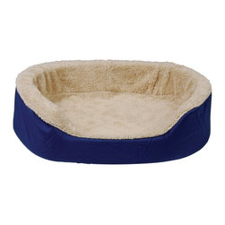 Brinkmann - Brinkmann Oval Pet Bed - RO2300-675.1 - Shop for Beds Covers and Fill from Hayneedle.com! The Brinkmann Oval Pet Bed is a great choice for dogs or cats. The shell is constructed of high-grade urethane foam and the removable cover comes in color options. The cover is conveniently machine washable.