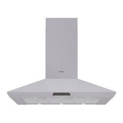 Thermador - 42 inch Masterpiece Series Pyramidal Style Chimney Wall Hood - A beautiful Masterpiece Series kitchen deserves Masterpiece Ventilation. Our stainless steel Chimney Wall Hood can be ordered with any of six different blower options.