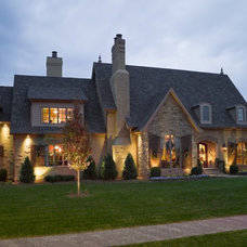 Traditional Exterior by Hughes Edwards Builders