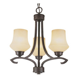 Trans Globe Lighting - Trans Globe Lighting 6183 ABZ New Century Transitional Chandelier - Trans Globe Lighting 6183 ABZ New Century Transitional Chandelier