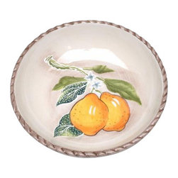 ATD - 4 Inch Yellow Lemons and Branch Garden Themed Dip Dish Plate - This gorgeous 4 Inch Yellow Lemons and Branch Garden Themed Dip Dish Plate has the finest details and highest quality you will find anywhere! 4 Inch Yellow Lemons and Branch Garden Themed Dip Dish Plate is truly remarkable.