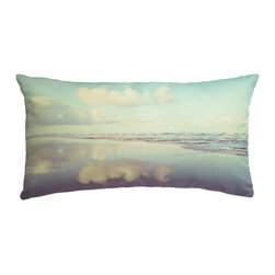 Plumed - The Pacific Photography Pillow Cover - The photography pillow line at Plumed is inspired by a love of both travel and landscape. Each pillow cover features an image from our personal collection. We love the modern-vintage feel of the muted and subdued tones that are a signature to this line. We hope that these pillows will inspire some serious daydreaming. Designed by Christine Dinsmore.