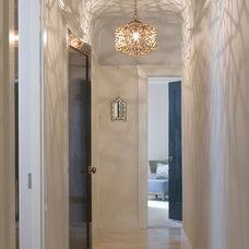 Contemporary Hall by Angela Free Design