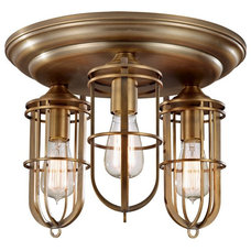 Industrial Flush-mount Ceiling Lighting by Arcadian Home & Lighting