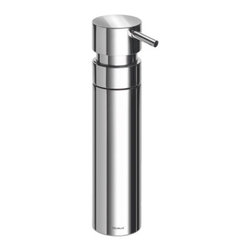Blomus - NEXIO Soap Dispenser by Blomus - The Blomus NEXIO Soap Dispenser offers clean lines--and clean hands. Created by the stotz-design group, it features stainless steel in either a polished or satin finish. Part of Blomus's sleek, cool NEXIO bathroom collection. Blomus, headquartered in Germany, specializes in the design and manufacture of beautifully engineered home and office accessories in modern stainless steel styles.