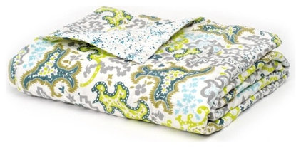 Mediterranean Quilts And Quilt Sets by store.ploverorganic.com