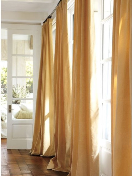 Modern Curtains by Pottery Barn