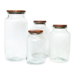 Europe2You - Reclaimed Wood Mason Jar Lid - A beautiful Reclaimed Wood Lid adds natural warmth to the Antique Mason Jar for storage and display. It fits perfectly on top of the wide mouthed jars, item# E2YGEY440-C9,  E2YGEY440-B9, and is not air tight. Use the decorative lid to bring a rustic touch to your wedding or home decor.