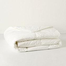 Anthropologie - Down Alternative Duvet Insert - Cotton; polyfillMachine washImported