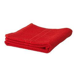 FRÄJEN Bath towel - Bath towel, red