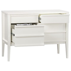modern filing cabinets and carts by Crate&amp;Barrel
