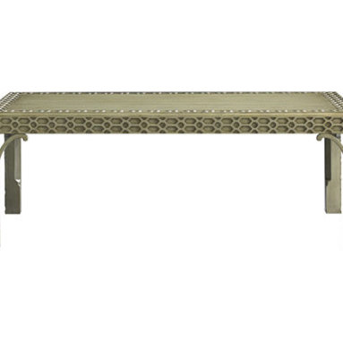 Baker Furniture : Peking Cocktail Table by Michael S Smith - This elegant coffee table by Michael S. Smith, the president's decorator, will add all kinds of far eastern flavor to your living room.