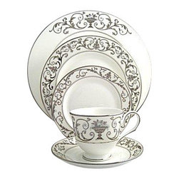 Lenox - Lenox Autumn Legacy 5-Piece Place Setting - Lenox Autumn Legacy 5-Piece Place Setting
