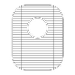 Wells Sinkware - Wells Sinkware GWS1115 Sink Grid - Heavy gauge stainless steel, Fits CHU3721-97/CHU3721-79/CHT3822-97/CHT3822-79/KPU1518-7, Protective vinyl feet and bumpers, Limited one-year warranty