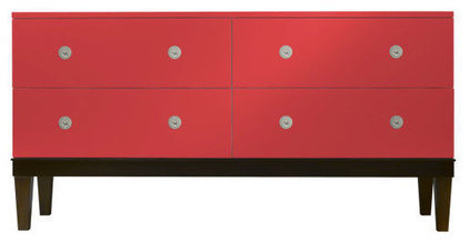 contemporary dressers chests and bedroom armoires by Dennis Miller Associates