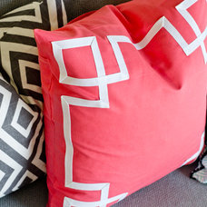 DIY Greek Key Pillow Sham