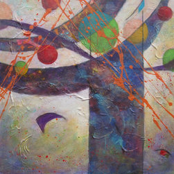 Dianna Cates Dunn - Lyrical - Painting - .....if music could be seen......