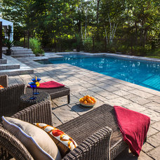 Eclectic Hot Tub And Pool Supplies by Techo-Bloc