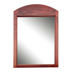 "Renovators Supply - Mirrors Cherry Hardwood Shaker Mirror 32in x 21 1/2in - Furniture fashions come and go, but classic Shaker is always in style!  This piece is perfect for a foyer or hall.  The mirror is 32"" x 21 1/2""."
