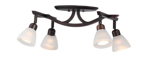 DVI LIghting - Dvi Lighting DVP9387ORB-WL 4 Light Track - DVI Lighting DVP9387ORB-WL 4 Light Track