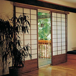 Shoji Patio Door Treatment -