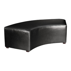 Howard Elliott - Howard Elliott Atlantis Black Universal Radius Bench - Universal Radius bench Atlantis black