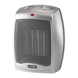 Lasko - Lasko 754200 Ceramic Heater - The Lasko 754200 Ceramic Heater with Adjustable Thermostat is a compact,ceramic convection heater with a fan,an adjustable thermostat and two power settings.