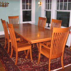 Old World Table Base with Biltmore Table Top -