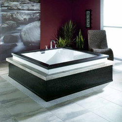 Neptune - Neptune | Macao Mass-Air/Activ-Air Combo Tub - Made in Quebec, Canada by Neptune. Visit our Neptune Bathtub Buying Guide to help you determine which tub is right for you. The Macao Mass-Air/Activ-Air Combo Tub will make you a believer in luxury tubs. This multi-function massage tub will soothe aches and pains created from the stress of everyday life. This lavish tub combines the activ-air tub system which uses warm air that is injected into the water creating thousands of massaging bubbles with the mass-air system, which propels water through injectors located on the bottom and backrest of the tub for an embracing cushion of air bubbles. Together these two systems create the pinnacle of sophisticated bathing. Product Features: