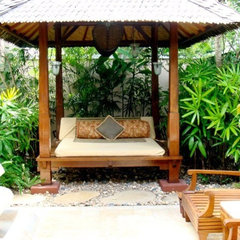 asian patio by CHRISTINA MARRACCINI Inc.