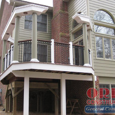 Traditional Exterior by ORBE CONSTRUCTION