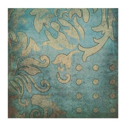 """CANVAS PRINTING WALL ART  36"""" X 63"""" - Looking for a way to add some flair to your walls? Then this stylish canvas print is for you. In a combination of modern and classic shapes, this fresh pattern will certainly add vitality to any room."""