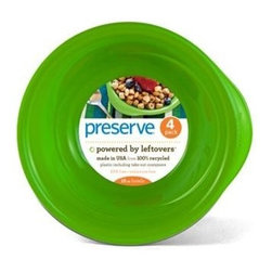 Preserve Everyday Bowls - Apple Green - 4 Pack - 16 Oz - Powered by Leftovers
