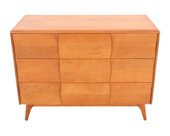 "1951' Kohinoor Heywood Wakefield Chest of Drawers - 1951' Mid-Century Heywood Wakefield Chest of Drawers from the Kohinoor collection. Measures 19""L x 43""W x 32.25""H  Refinished by Mission Avenue Studio."