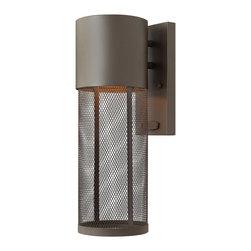 Hinkley Lighting - Hinkley Lighting 2300KZ-LED Aria Buckeye Bronze LED Outdoor Sconce - Hinkley Lighting 2300KZ-LED Aria Buckeye Bronze LED Outdoor Sconce