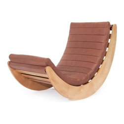 Absolute Comfort: Relaxer One Rocking Chair by Norr11 - Rocking chairs have come a long way from what they used to be. Once utilitarian pieces that only made people think of grannies knitting by the fireplace, they are now embraced by one and all. You can spot them in many modern living rooms and cozy spots. They tempt you to sit down and swing luxuriously. The Relaxer One Rocking Chair is an amazing piece. It is ideal for afternoon naps, story time with your kids, and relaxing on the porch.