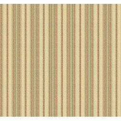 Haystack Stripe in Cream - The stripe fabric Haystack Stripe in Cream
