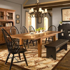 Attic Heirlooms 7 Piece Dining Set by Broyhill Furniture - Belfort Furniture - D