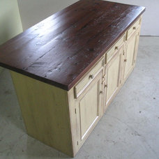 traditional kitchen islands and kitchen carts by LakeandMountainHome